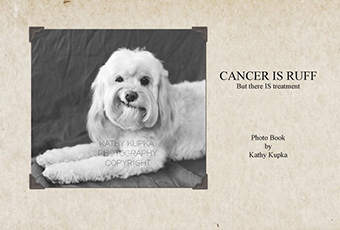 signing by photographer Kathy Kupka for her book Cancer is Rough