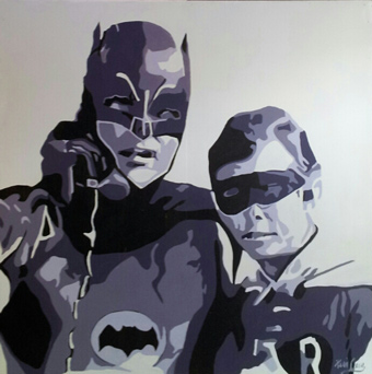 Heroes and Villains @ Night Gallery 6-9